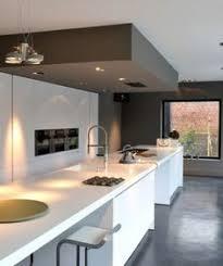 plafond cuisine design faux plafond de plâtre pour la décoration de cuisine cuisine