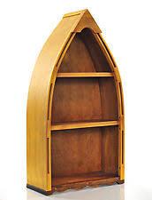 boat bookshelf furniture ebay