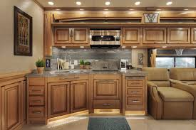 chestnut kitchen cabinets phaeton 2017 tiffin motorhomes