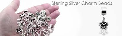 sterling silver charm wholesale silver flowers animal charm