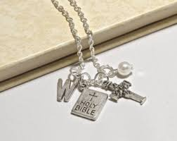 bible necklace bible necklace etsy