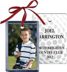 sport personalized golf photo ornament golf photos and