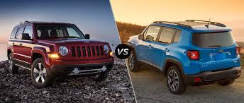 jeep patriot 2018 2016 jeep patriot vs 2016 jeep renegade
