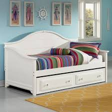 Daybed With Drawers Vaughan Bassett Cottage Day Bed With Storage Trundle Unit Ahfa