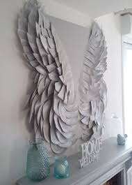 Angel Wings Home Decor by Diy Angel Wing Mantel Makeover The Creative Studio