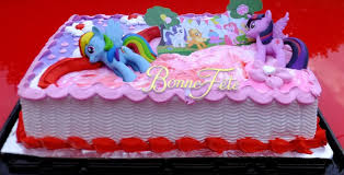 pony cake equestria daily mlp stuff officially licensed pony cake