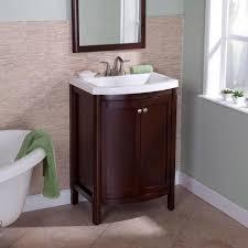 Glacier Bay Bathroom Cabinets Glacier Bay Valencia 25 In Vanity Glazed Hazelnut With Bathroom My