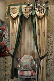 green window curtains ulinkly