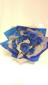 blue roses delivery kueh flowers florist delivery wedding funeral flowers