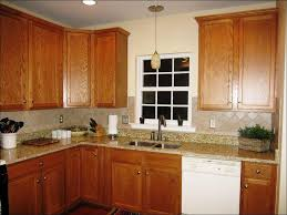 backsplash ideas for kitchen kitchen backsplash ideas with oak