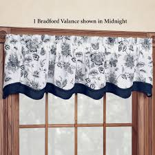 winston jacobean floral tier window treatment