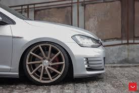 volkswagen gti wheels vw golf 7 with vossen wheels
