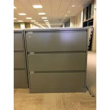 Steelcase File Cabinet 900 Series 3 Drawer 36
