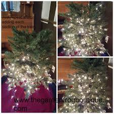 put on christmas tree lights christmas lights decoration
