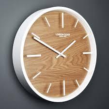 london clock company skog 30cm wall clock u0026 reviews wayfair co