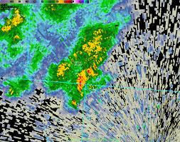 Ohio Radar Map by Tornado Confirmed Near Harveysburg Ohio