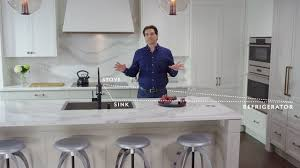 planning your kitchen layout youtube