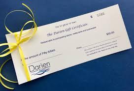 gift for in darien town wide gift certificates darien chamber of commerce