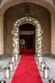 wedding arches south wales summer wedding floral archway stunning entrance to hensol castle