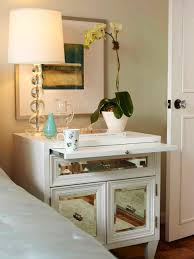 Nightstand Ideas by Mirrored Furniture Room Ideas Heritage Mirrored Nightstand