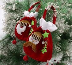 christmas gold velvet gift bag christmas gift bag santa clause
