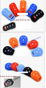 nissan qashqai key fob in stock wholesale silicone car key fob case for new x trail
