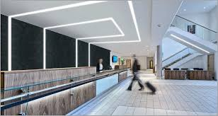 Led Ceiling Strip Lights by Recessed Ceiling Strip Lights Comfortable Trugroove Linear