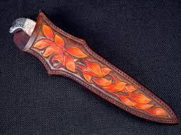 knife sheaths for custom and handmade knives by jay fisher