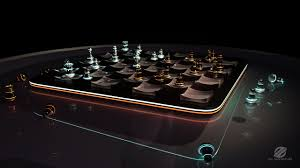 futuristic chess set 1 by izaspringintveld on deviantart