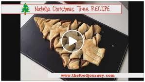 nutella christmas tree cake the food journey