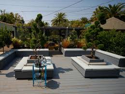 horjd after outdoor deck movable planters benches h rend hgtvcom