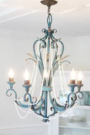 House Chandelier A Rustic House Chandelier Makeover The Wicker House
