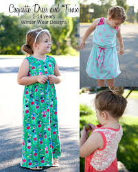 coquette top tunic and dress for girls size 1 14 u2013 winter wear