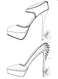 hafiz u0027s fashion sketching u003d high heels sketches