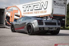 grey lamborghini gallardo metallic grey lamborghini gallardo by titan motorsports gtspirit
