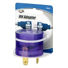 road power 30 15 amp rv power adapter walmart com
