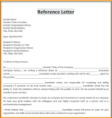 Reference Letter Template Word professional reference letter template word business letter template