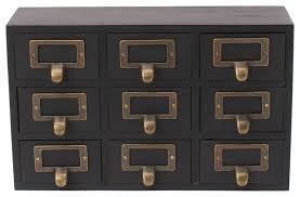 desktop organizer wood apothecary drawer set contemporary desk