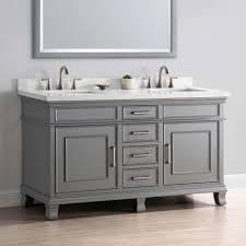Bathroom Vanities At Lowes Bathroom Sinks Lowes Jenson Vanities Natural Wood Bathroom