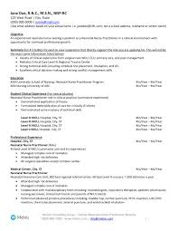 Nurse Practitioner Resume Samples Nicu Description Resume 28 Images Registered Resume Sle