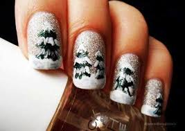 wonderful winter nail art designs