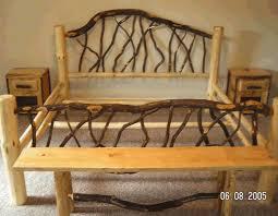 Wood Log Bed Frame Diy Plans Wood Log Bed Frame Plans Pdf Wood Picture Frame