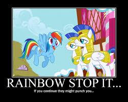 Rainbow Dash Meme - rainbow dash motivational by crossoverprincess on deviantart