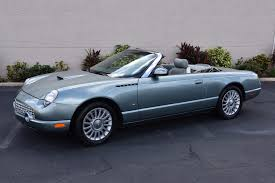 Pacific Coast Preferred Comfort Used 2004 Ford Thunderbird Pacific Coast Edition 892 Of Only