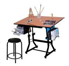 Drafting Table Storage Drafting Table Set Stool Storage Drawers Purple Drawing Desk