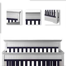 dream on me chesapeake 5 in 1 convertible crib in platinum and