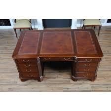 penhurst mahogany desk niagara furniture huge leather top desk