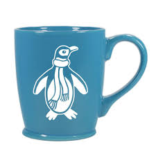 penguin mug u2013 bread and badger gifts