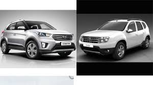 renault duster white hyundai creta effect renault nissan push the pedal on ad spends