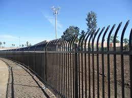 metal wrought iron fence products viking fence